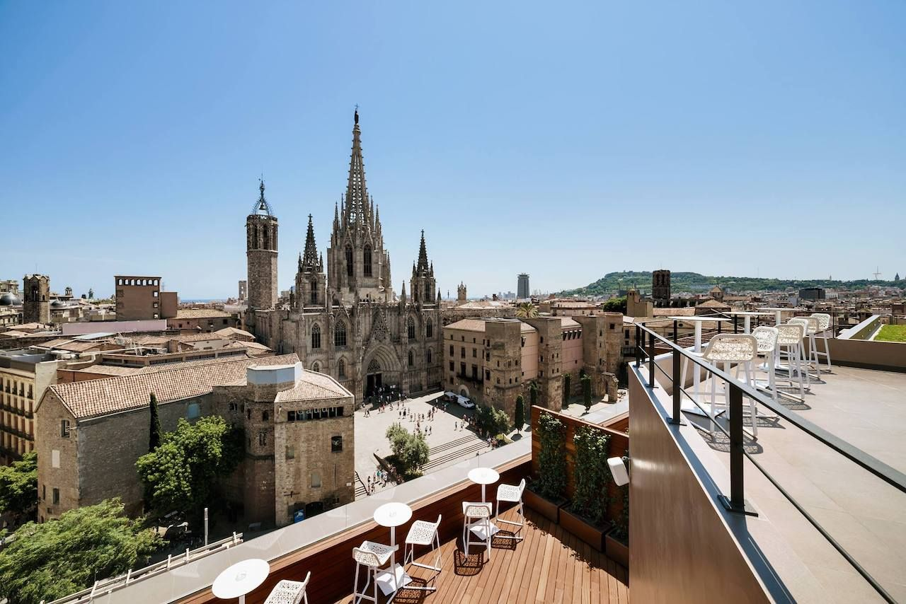 The Best Rooftop Bars In Barcelona Spain