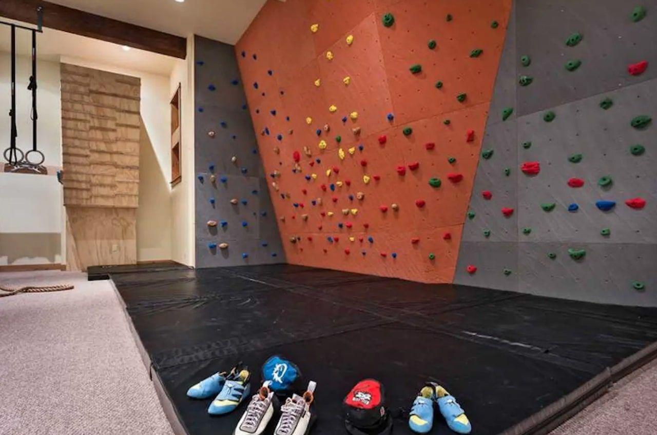 Indoor climbing oasis in Steamboat Springs