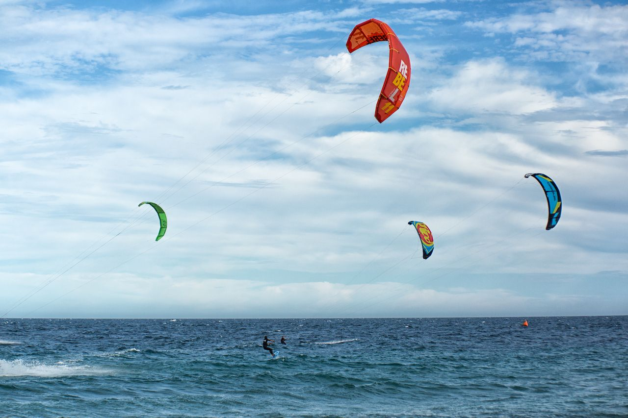 Top kiteboarding in Baja California