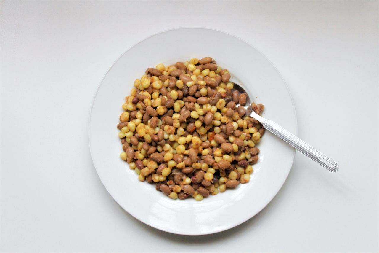 Maize and beans