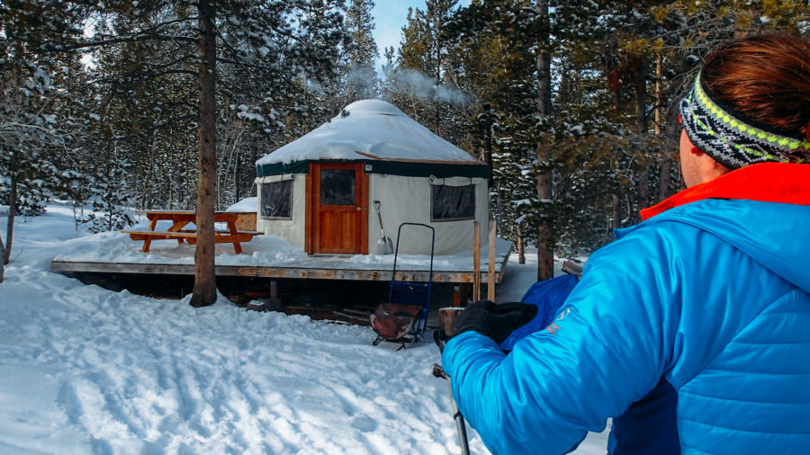 A backcountry yurt trip is the perfect ski escape. Here's how to plan one.