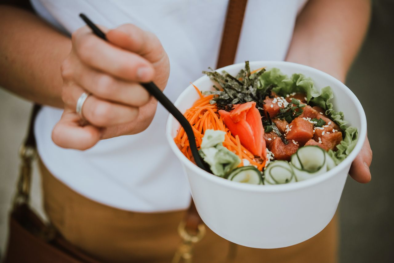 History of poke and poke bowls