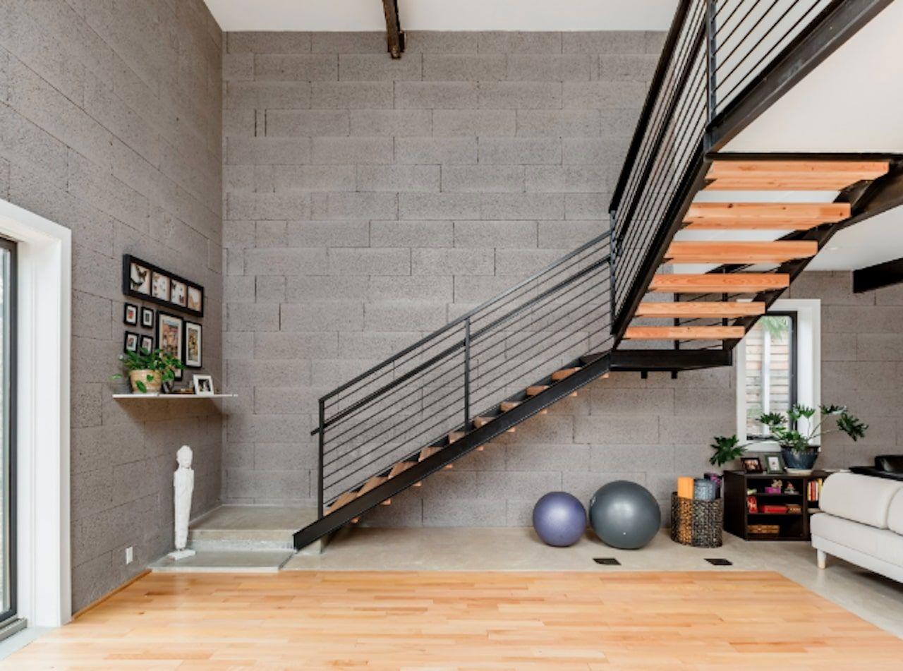 Yoga-centric loft in Austin
