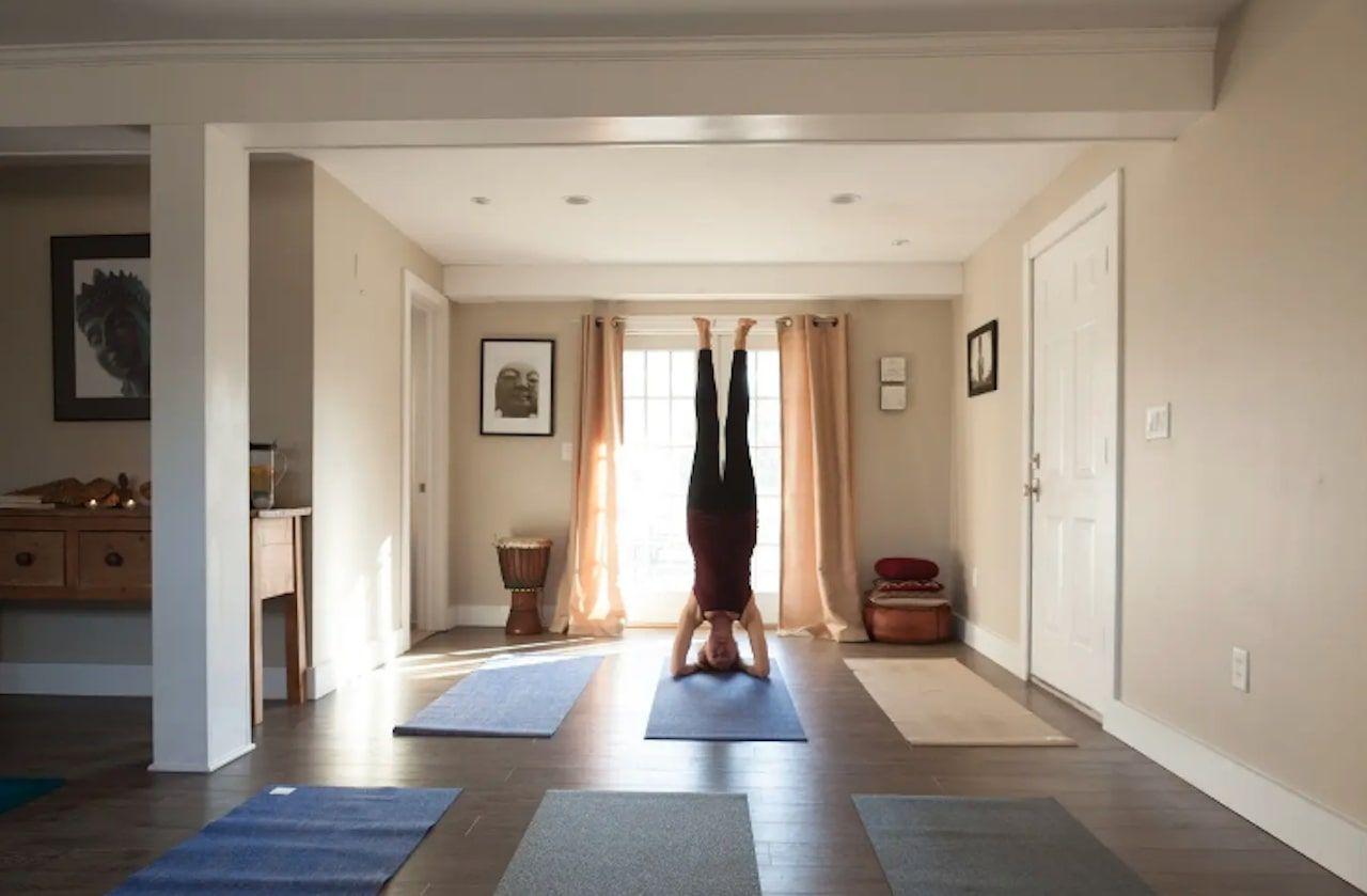 Yoga loft in Newtown Connecticut