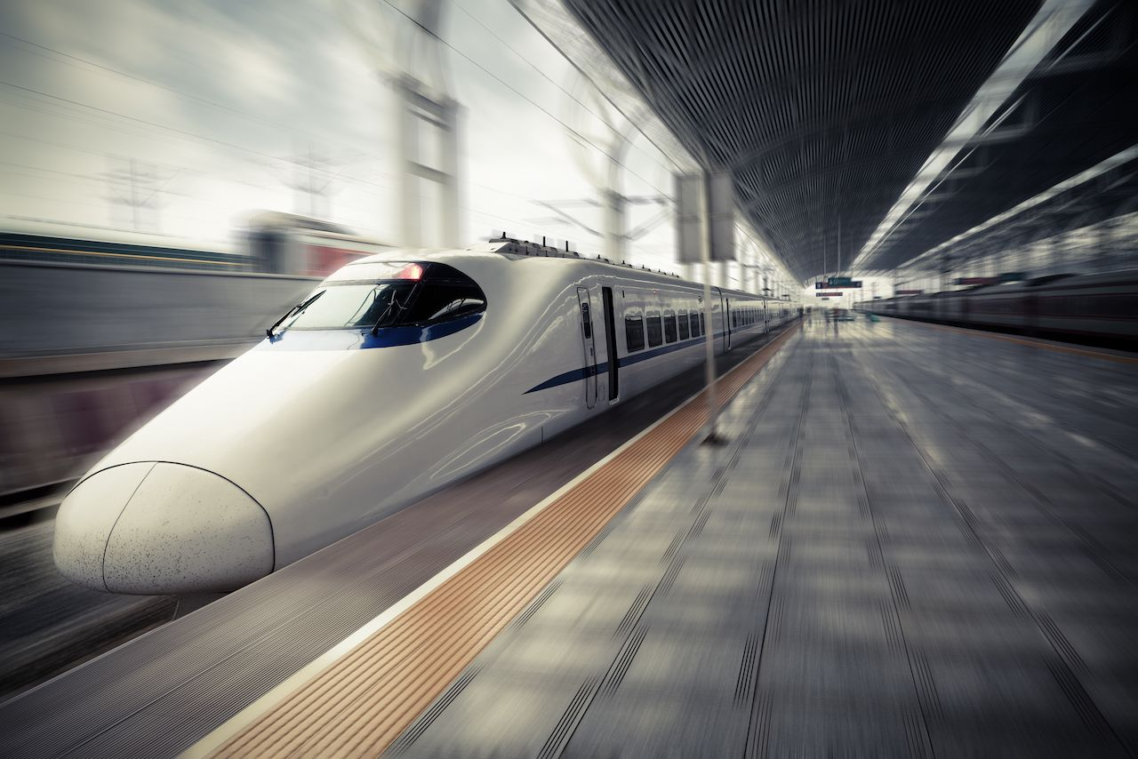 China's driverless bullet train