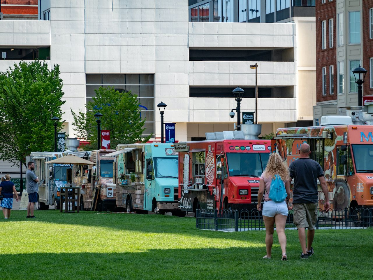 Food truck cities