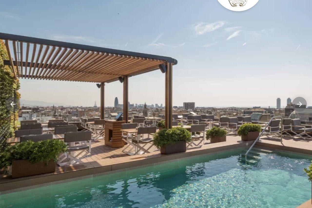 The best rooftop bars in Barcelona, Spain