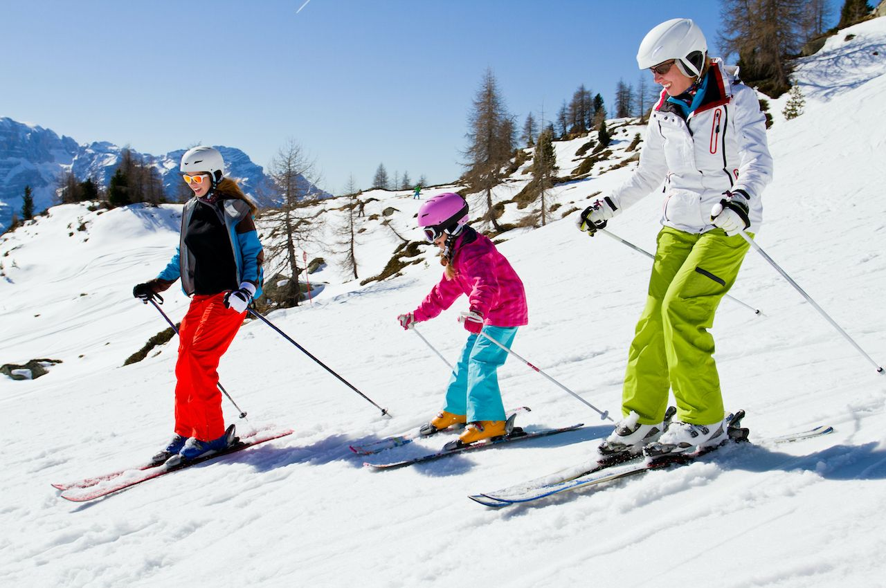 Presidents' Day family ski trips
