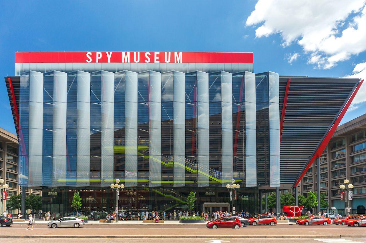 International Spy Museum to update