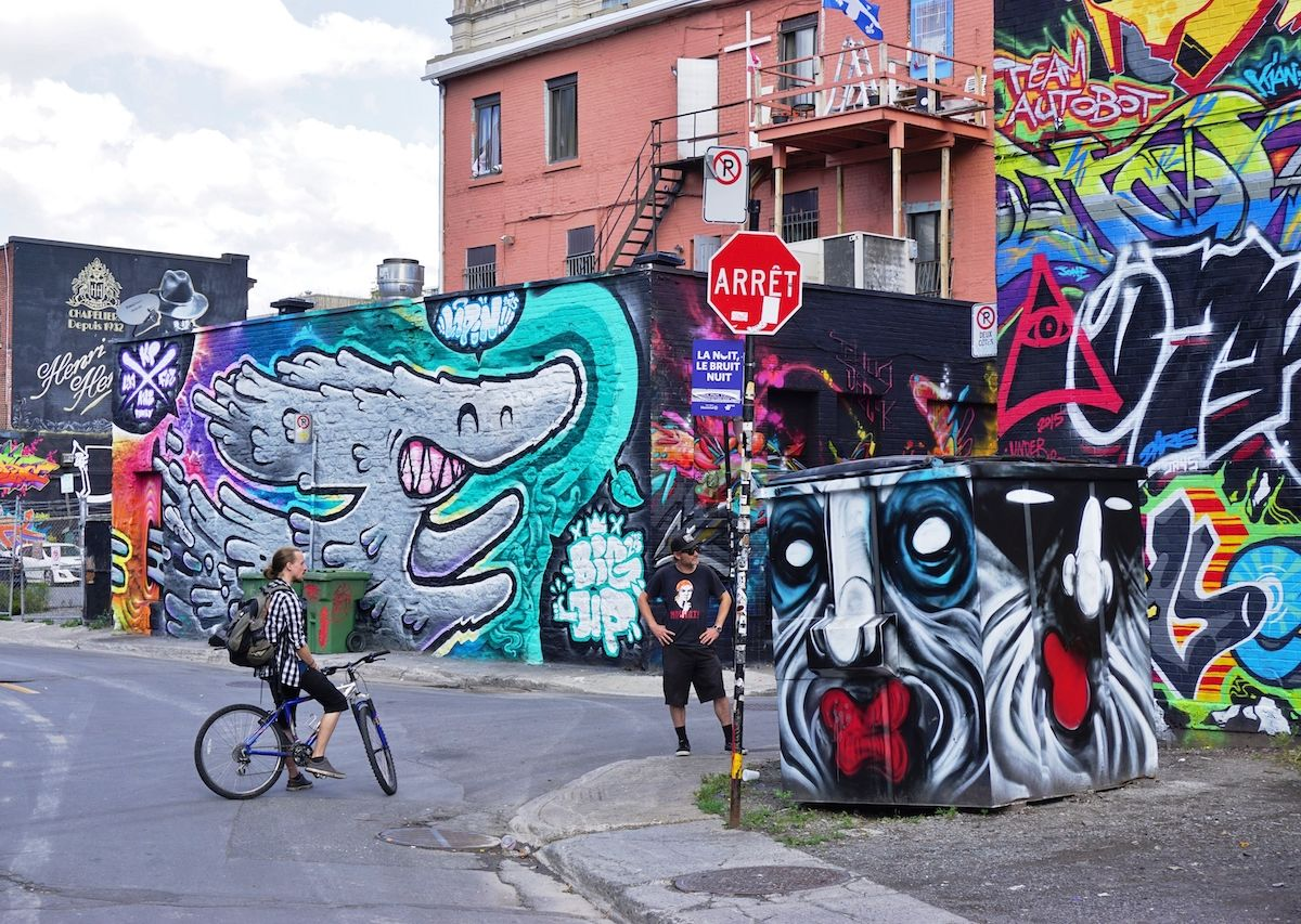 Montreal's Boulevard Saint Laurent is Canada's most colorful street