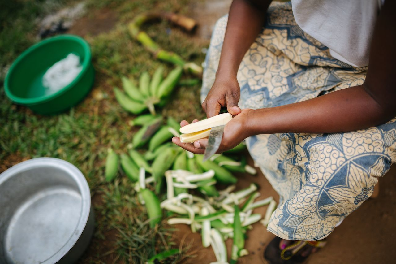 Banana dishes from Uganda