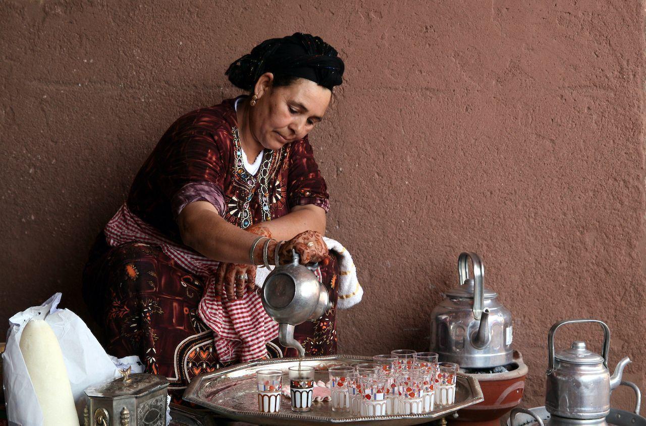 How to make traditional Berber tea