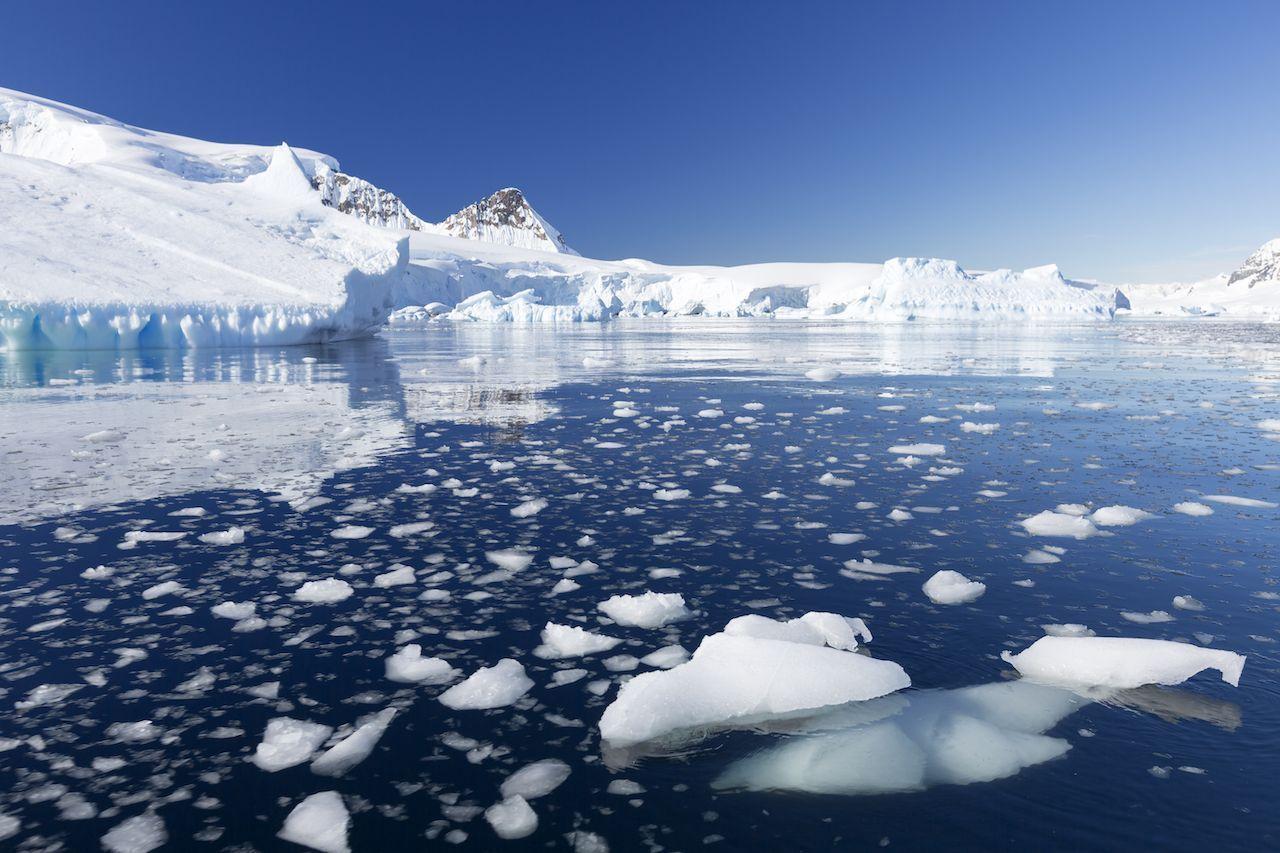 Antarctica's hottest temperature