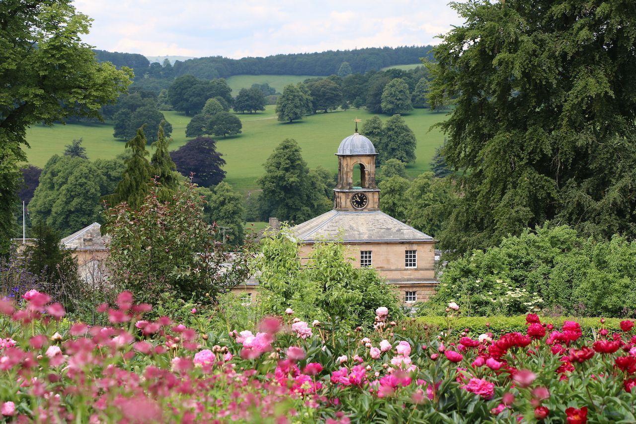Kitchen Garden at Chatsworth House
