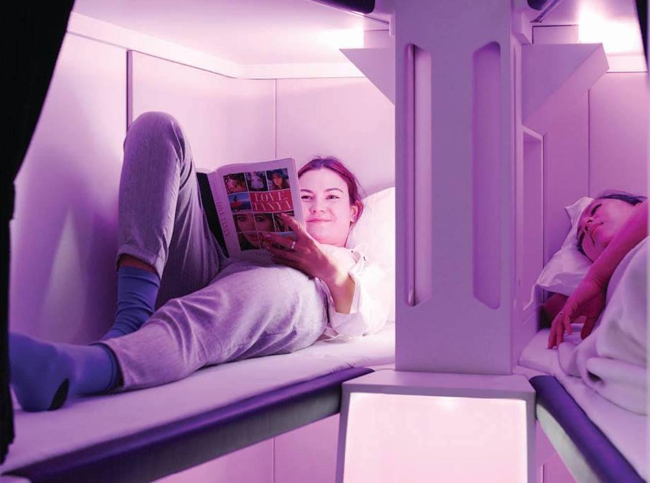 Air New Zealand Economy Skynest