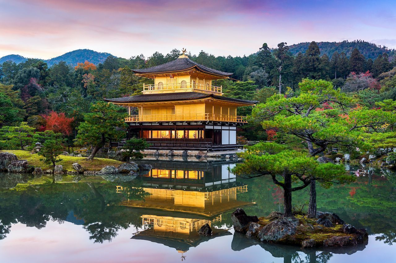 Kyoto s  empty tourism  campaign