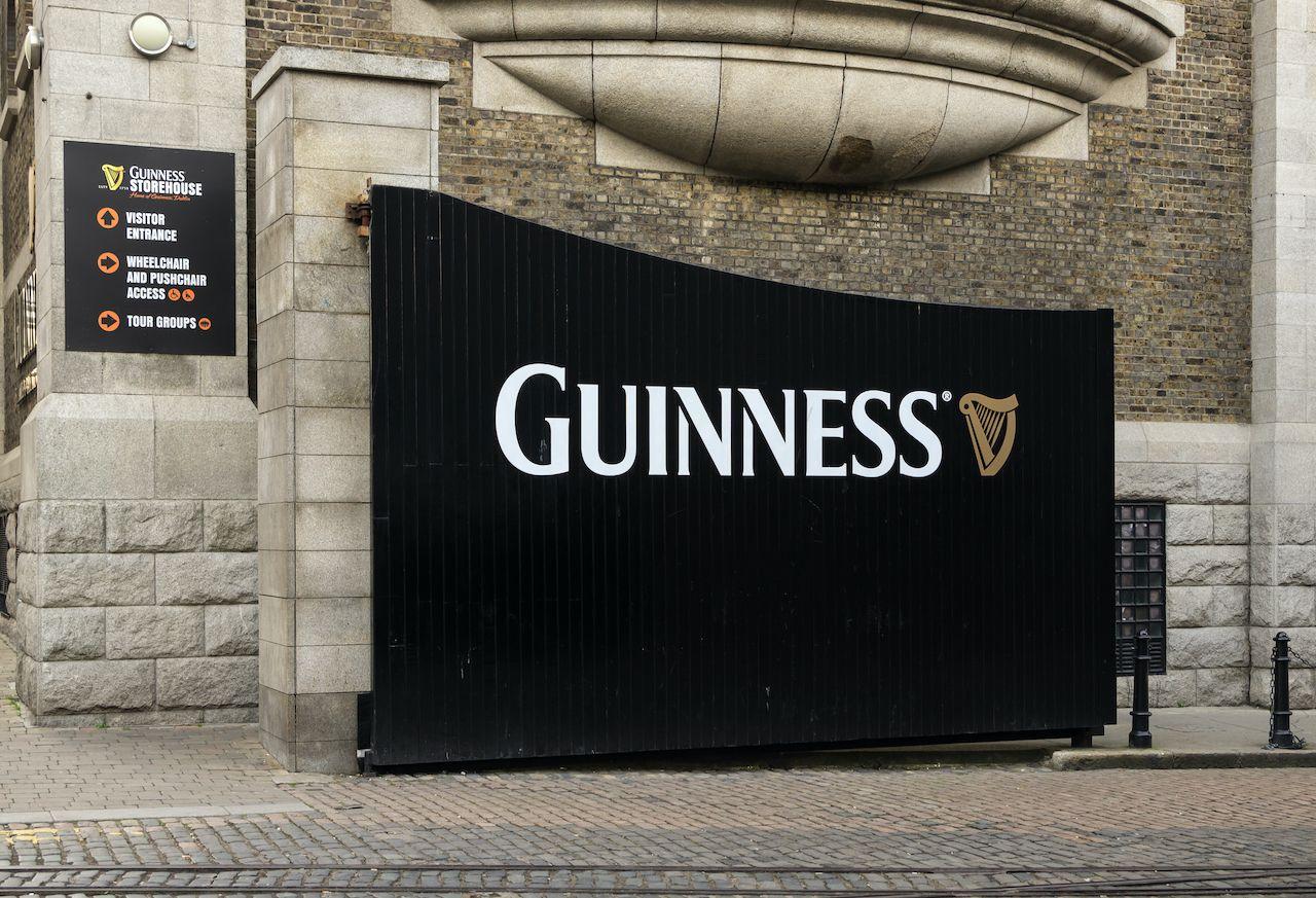 Guinness Storehouse BTS tour