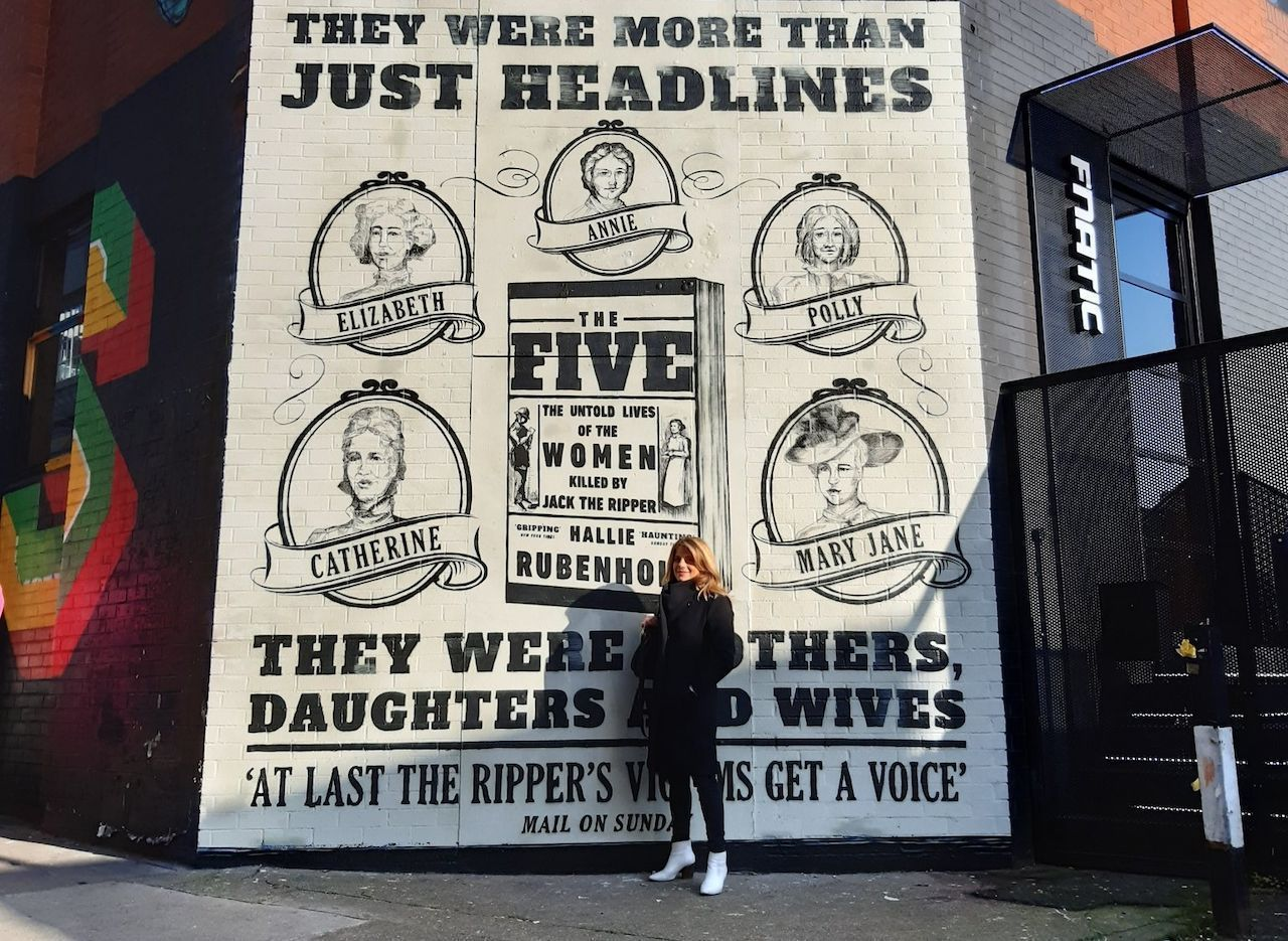 Jack the Ripper mural