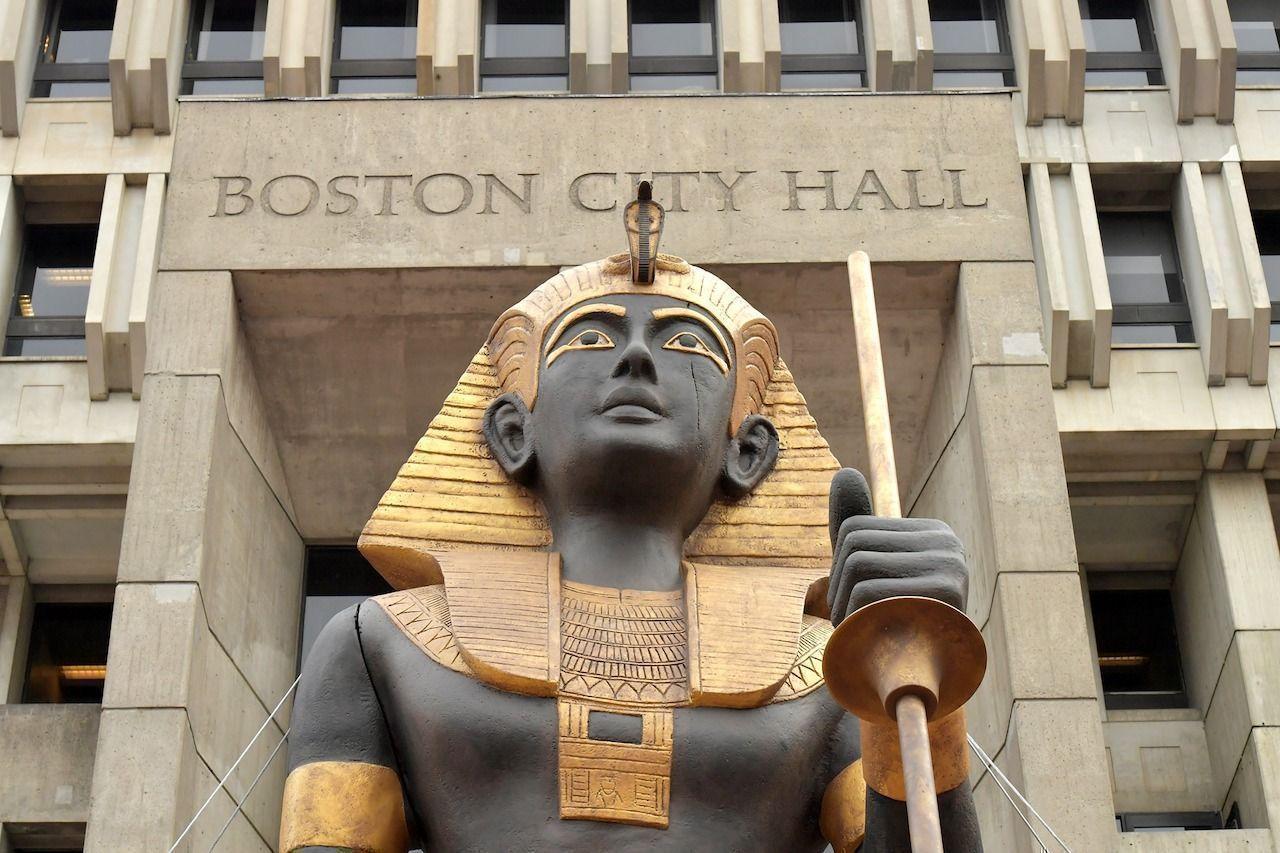 Tutankhamun treasures Boston exhibit