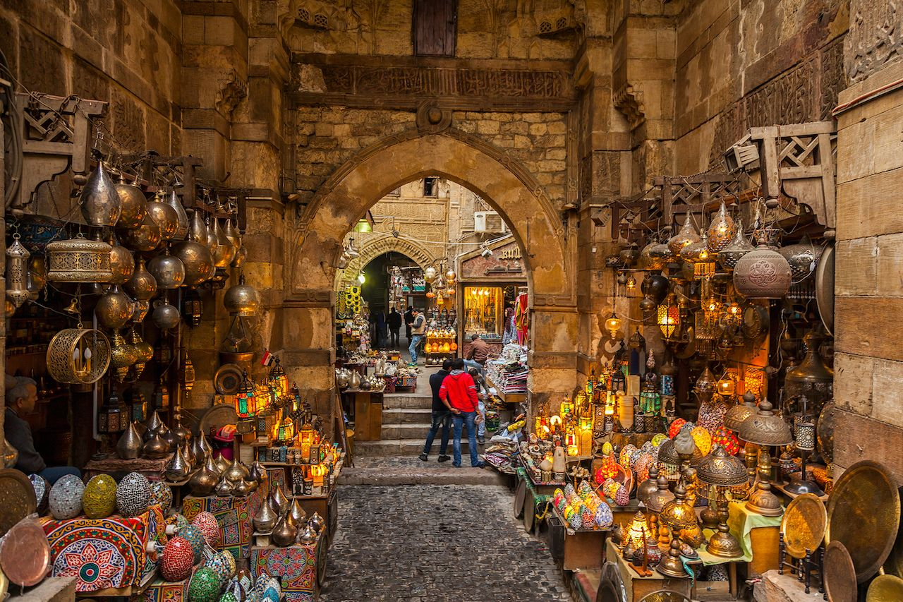Souqs in Middle East, North Africa