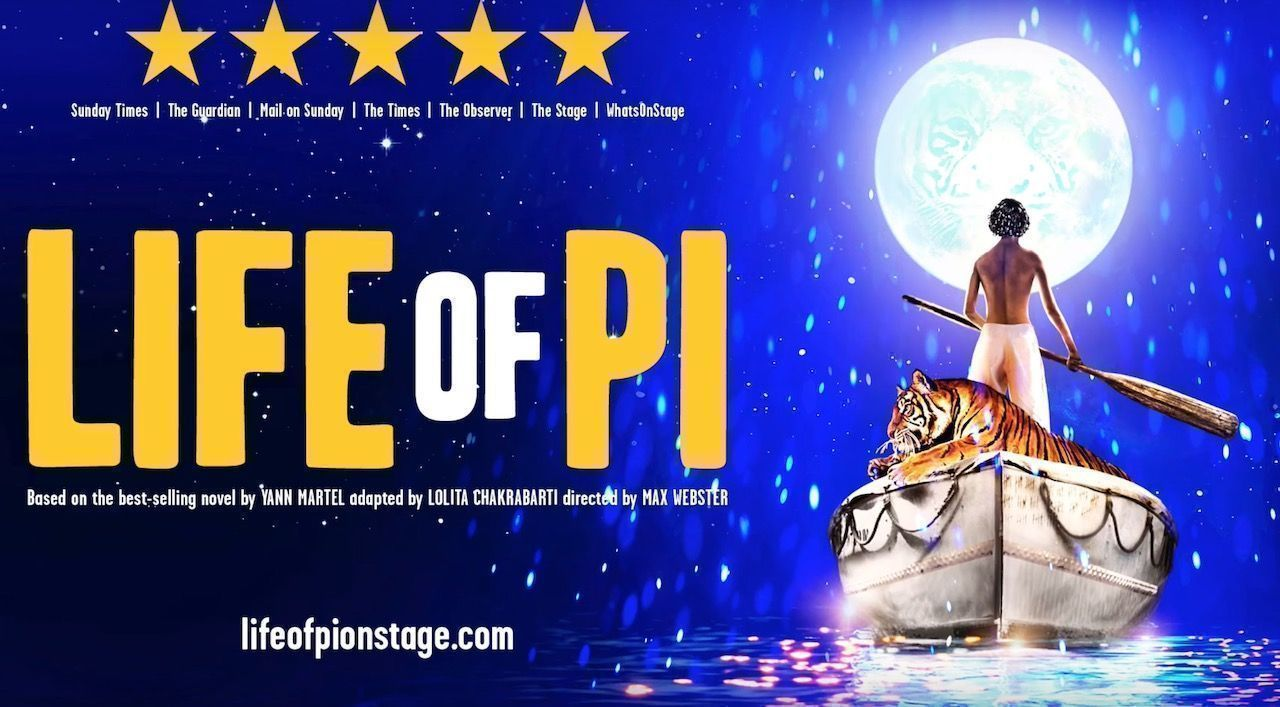 Life of Pi play in London 2020