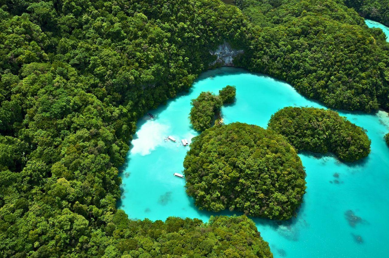 Milky Way in Palau