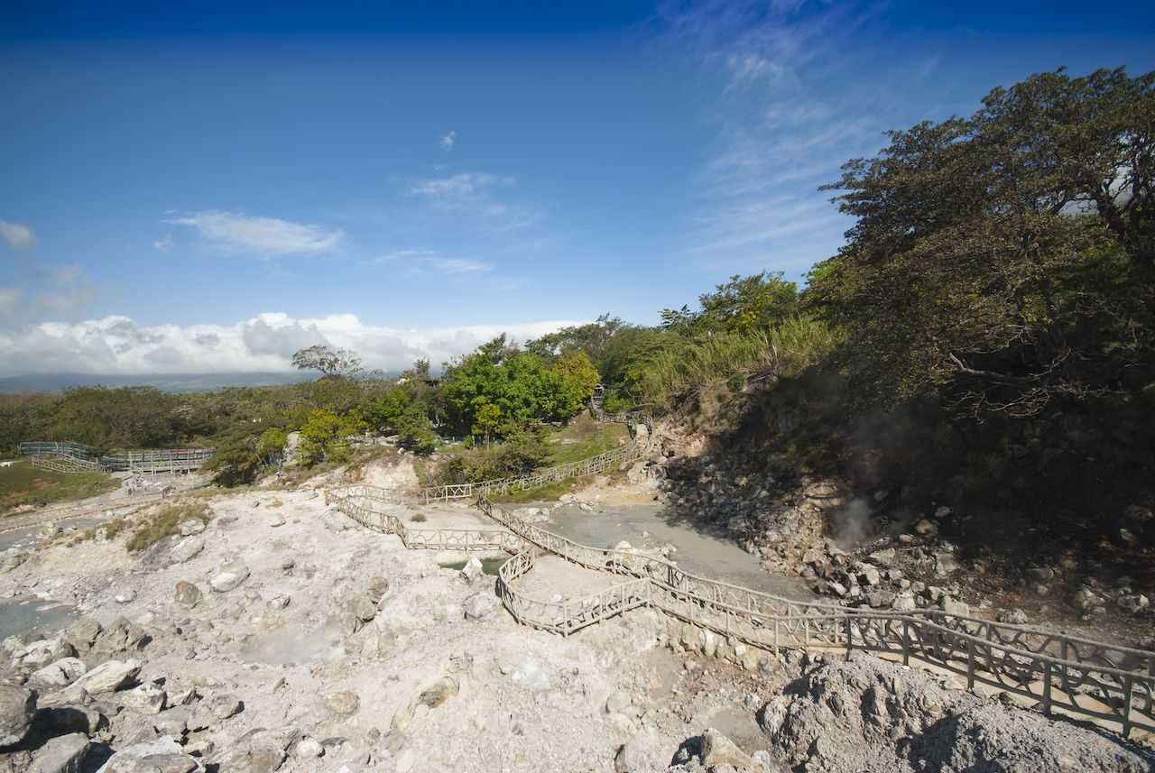 Mud and Volcano of Costa Rica