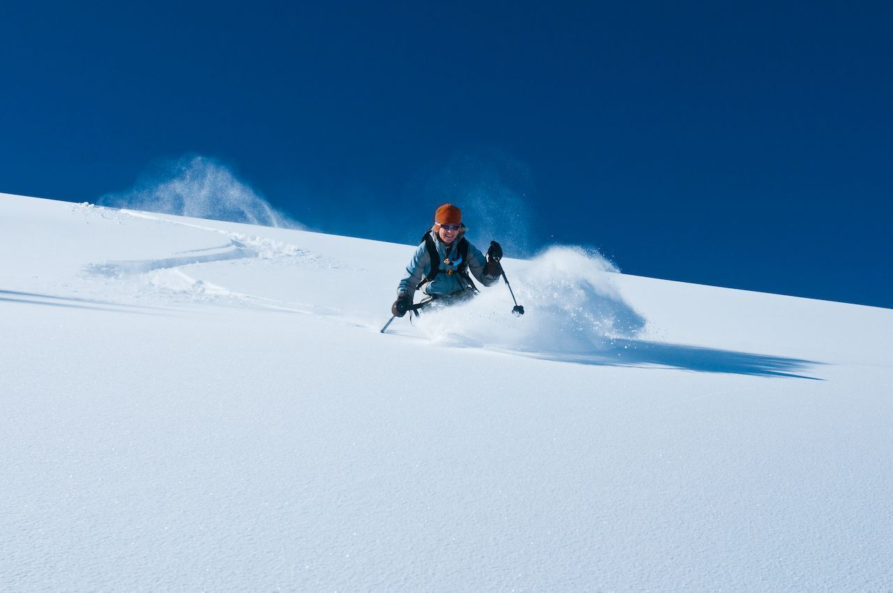 How skiers can reduce their impact
