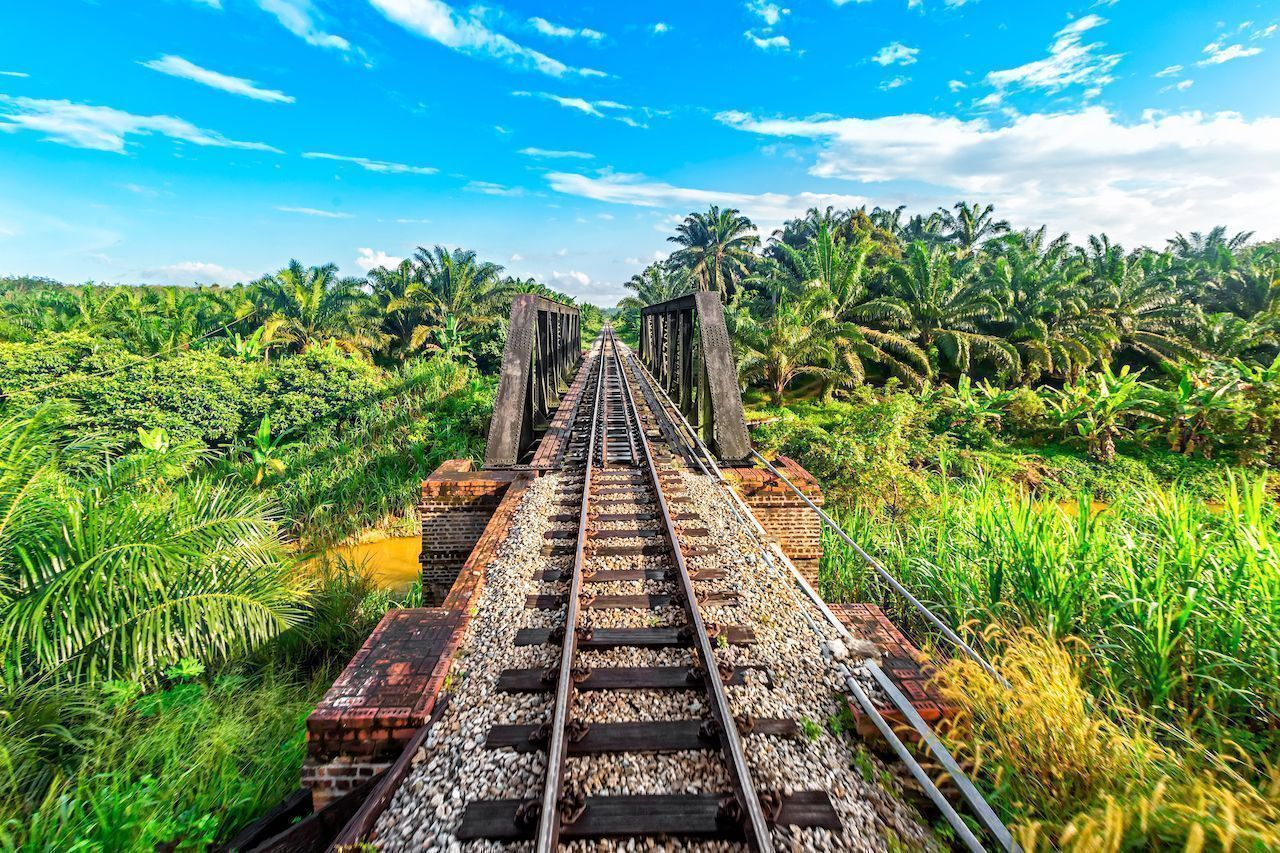 The most remote train journeys