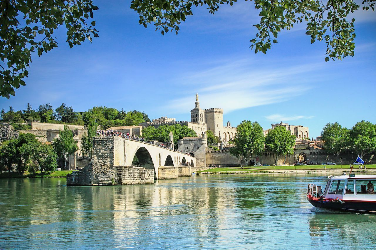 River cruise in Provence, France