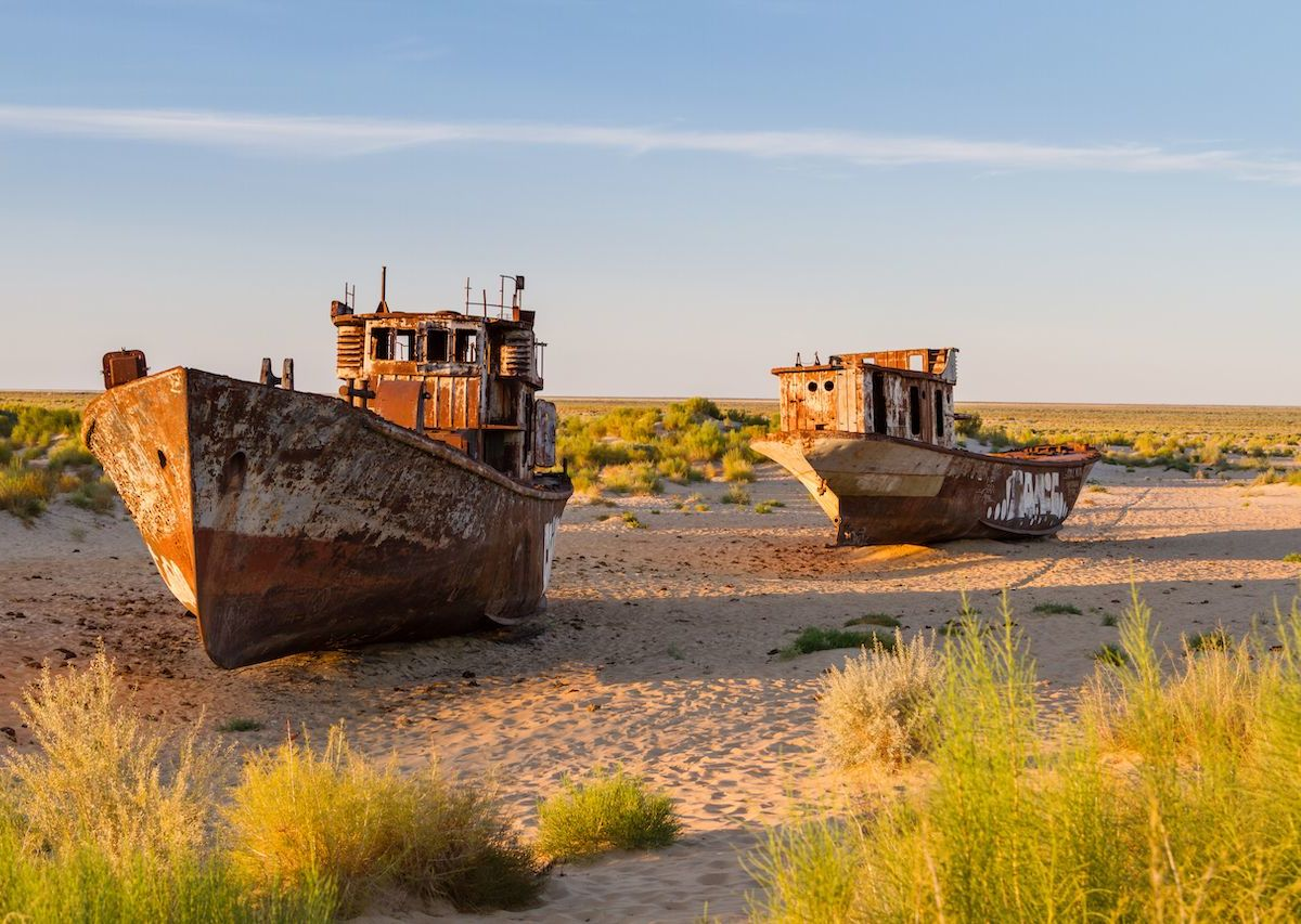 The Aral Sea is the ecological disaster that you've probably never heard of