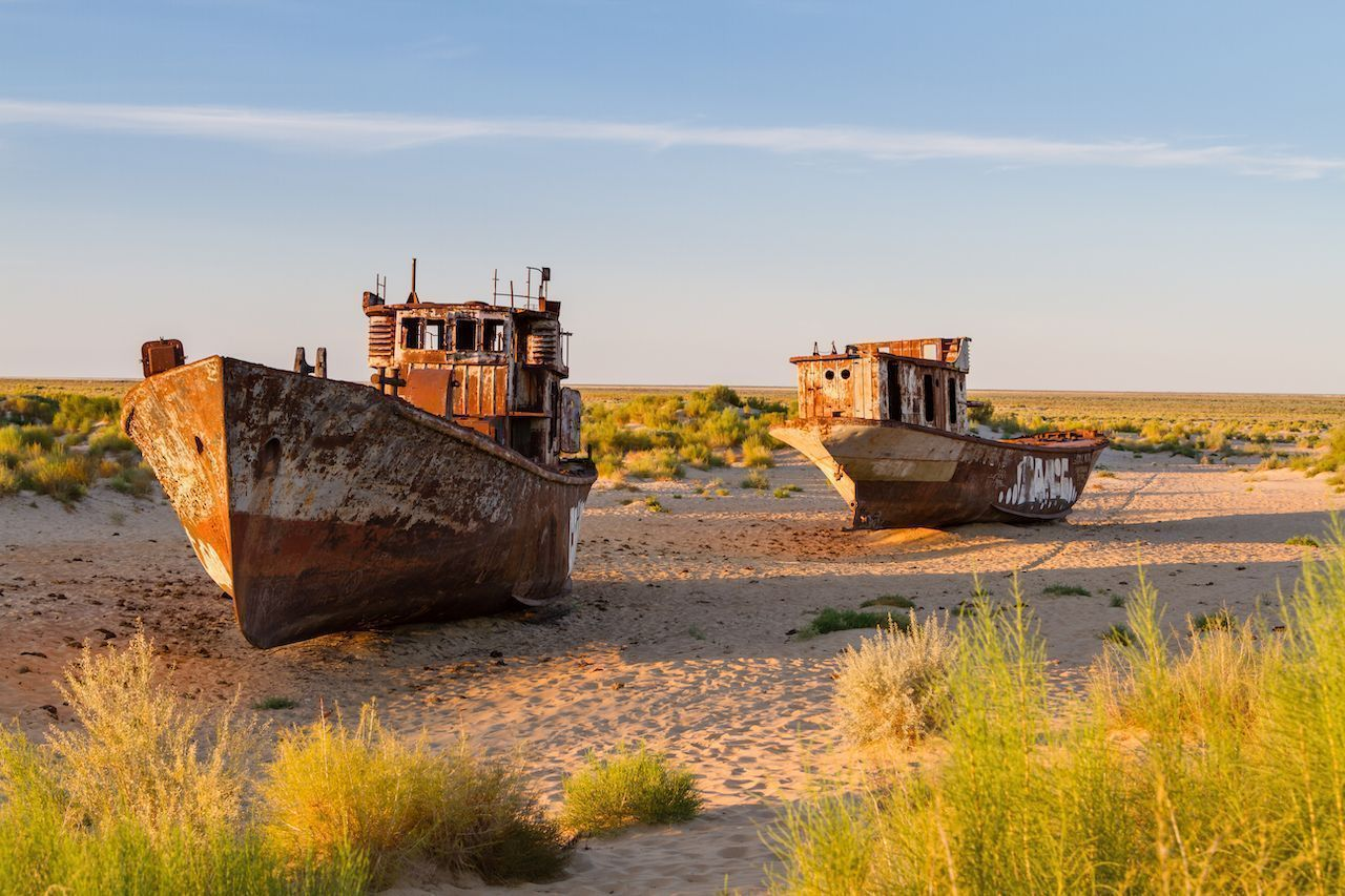 What happened to the Aral Sea