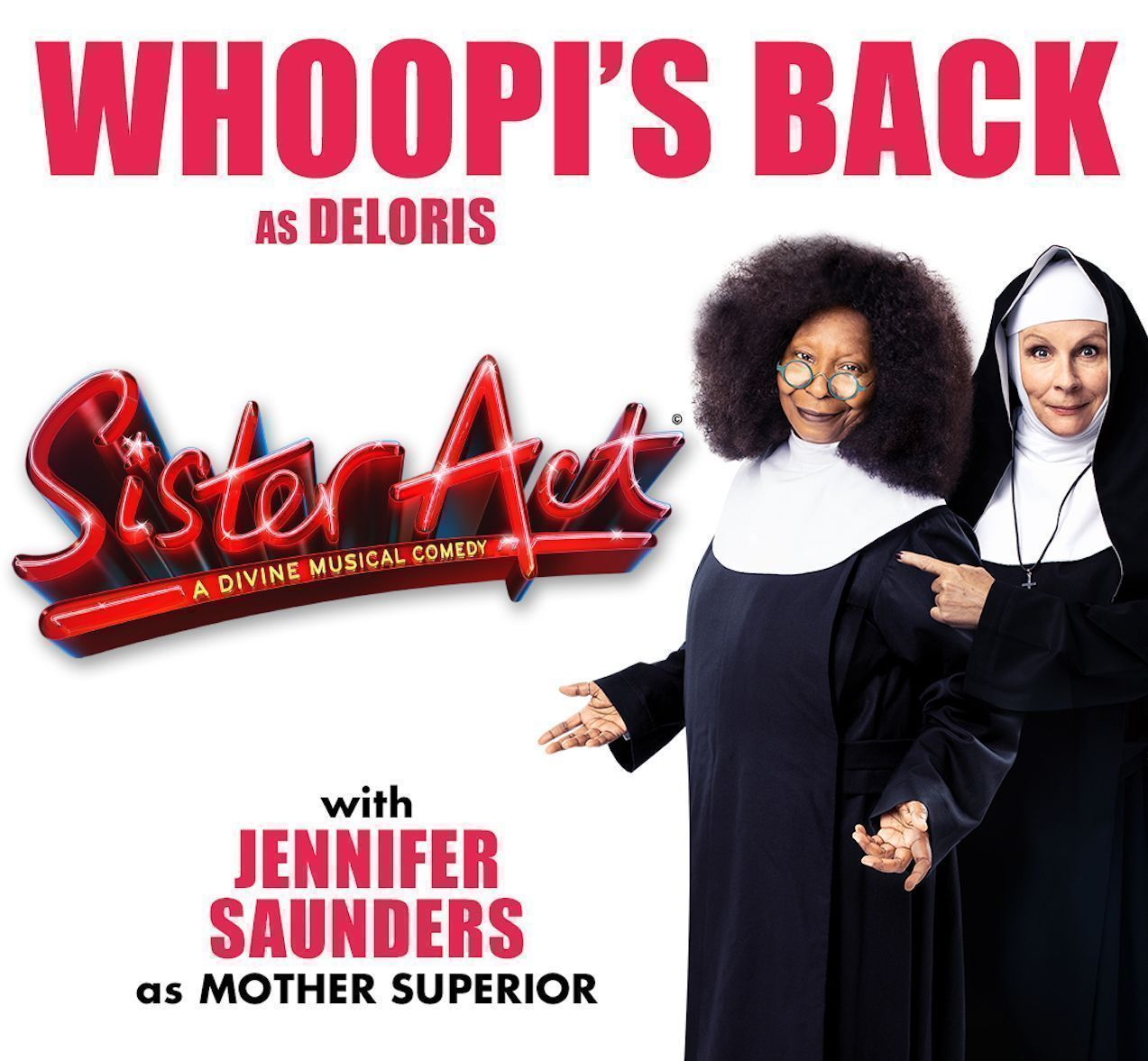 Sister Act play London 2020