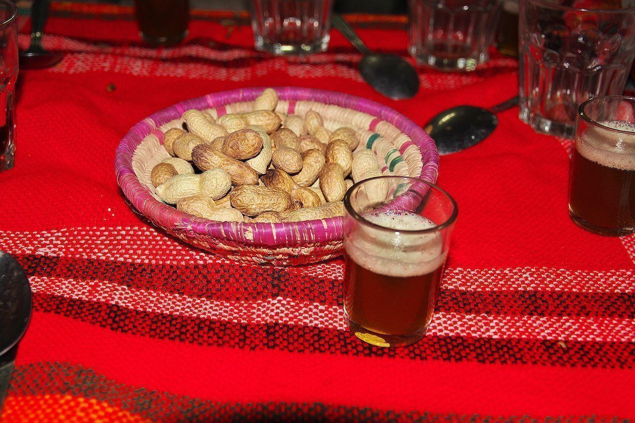 Some Berber food in Sahara desert