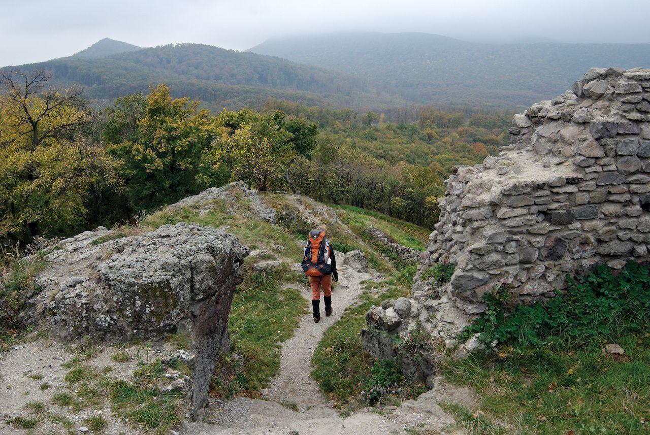 Hike Hungary's National Blue Trail