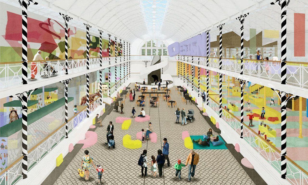 London s childhood museum renovating