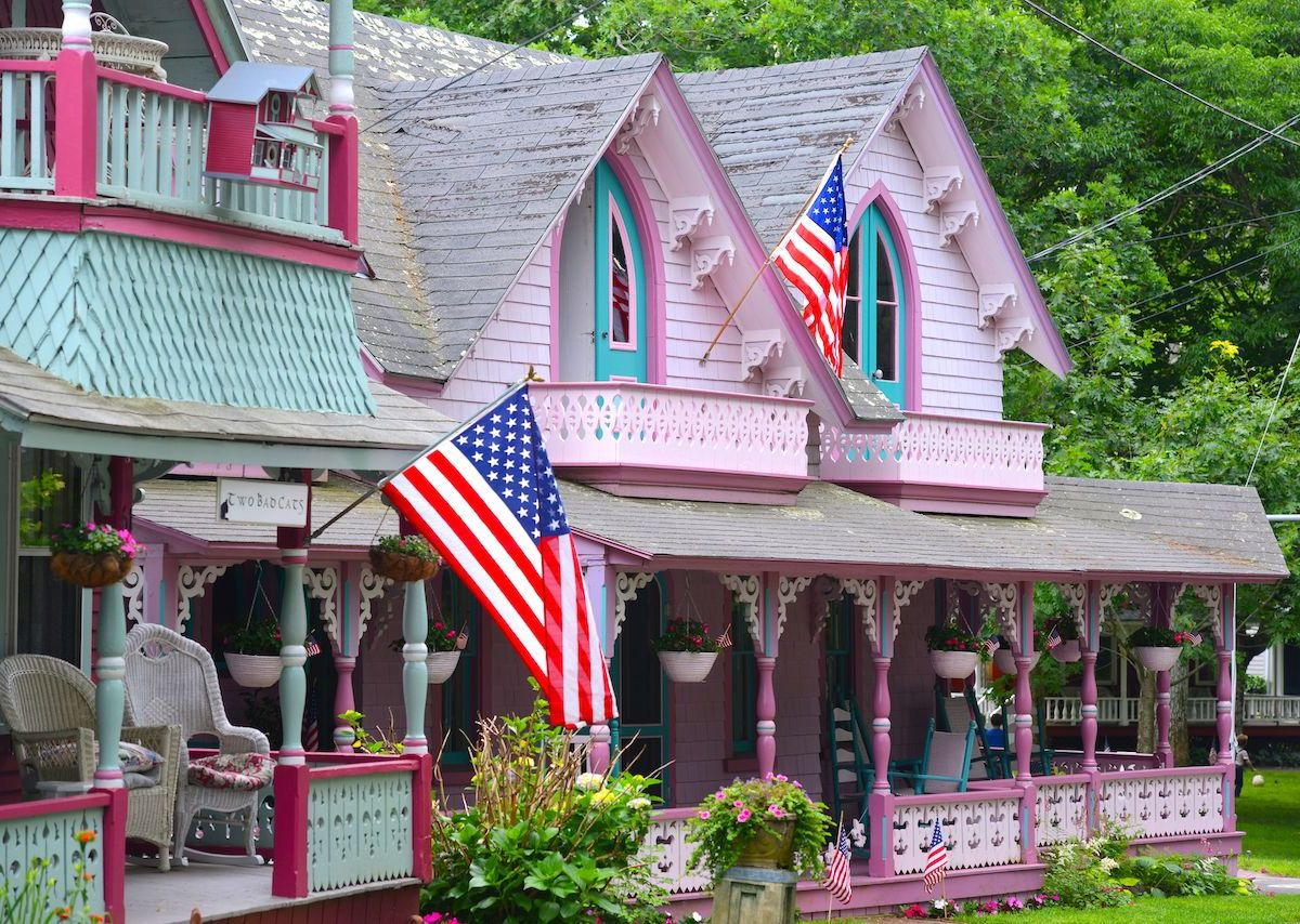 How religious revivals led to the colorful Martha's Vineyard gingerbread houses