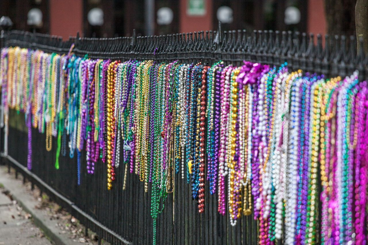Mardi Gras beads create huge waste