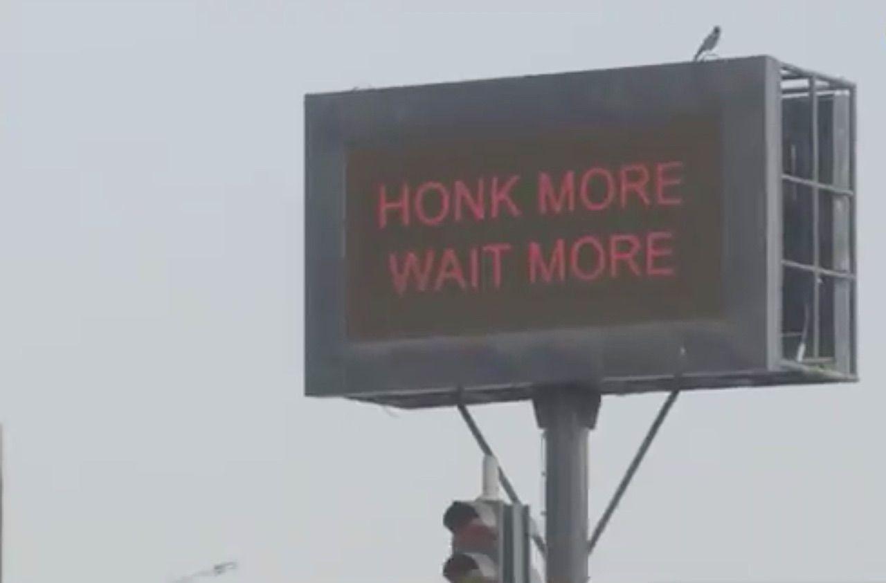 Mumbai tests light that punishes