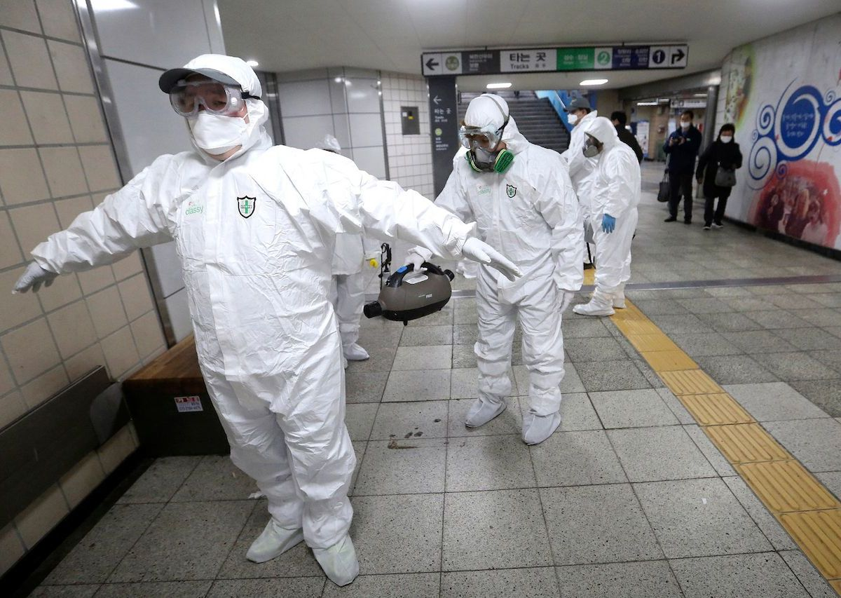 south korea sees rise in coronavirus cases