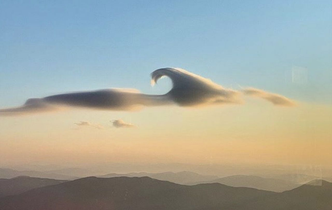 Mount Washington wave cloud