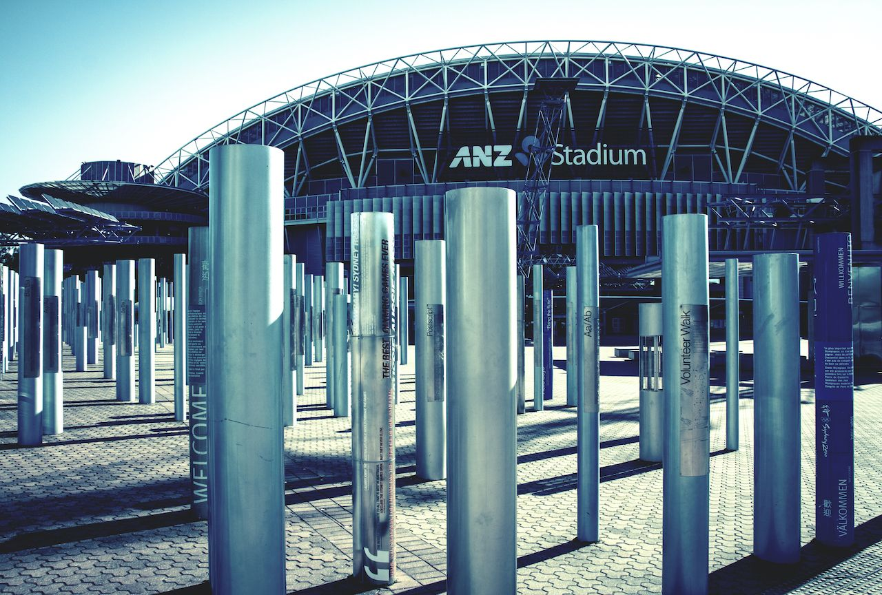 ANZ Stadium at Sydney Olympic Park