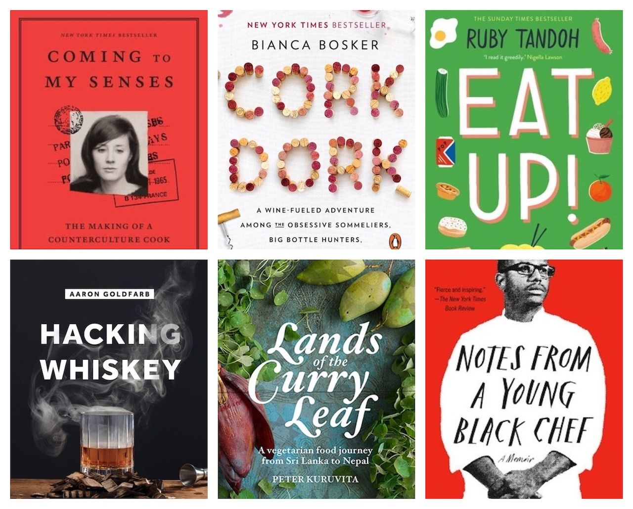 Food and travel books to read