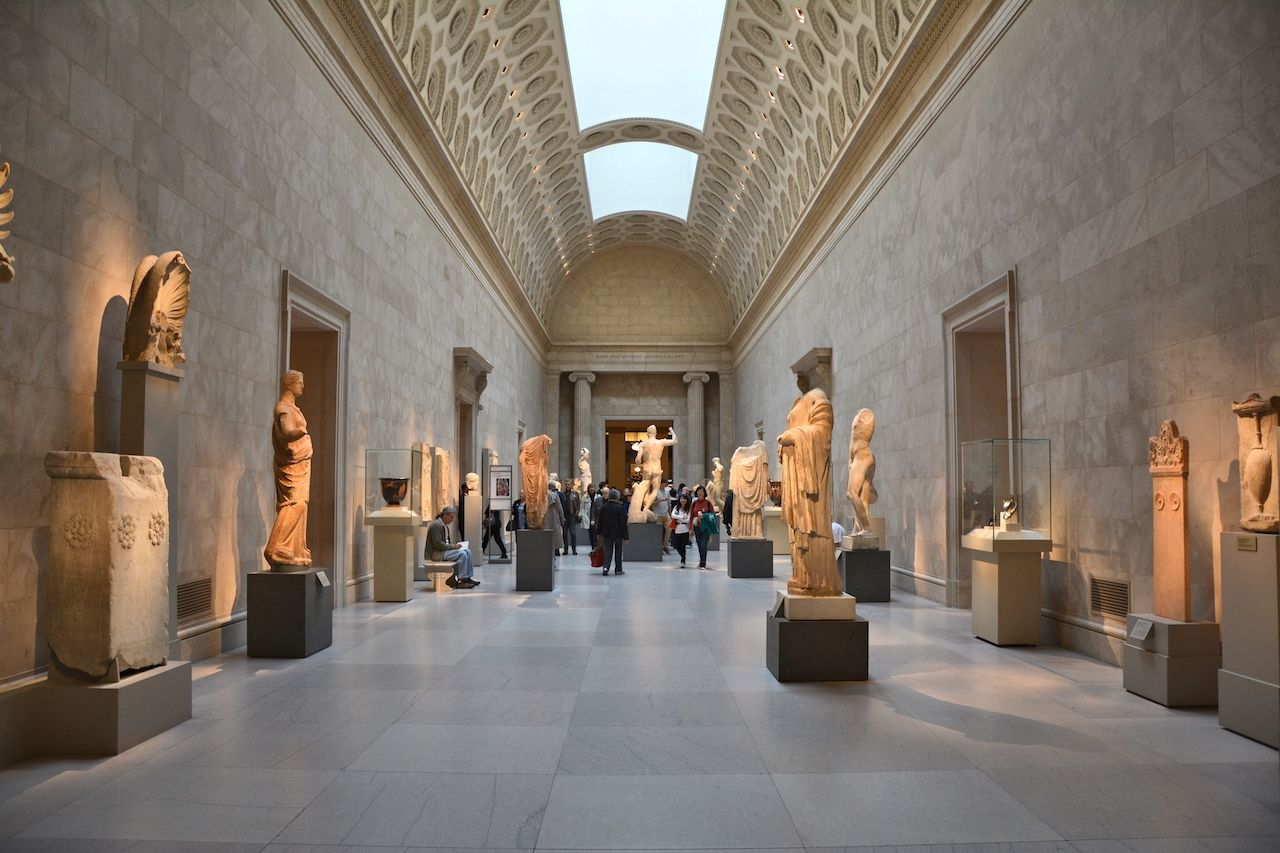 Exhibition of Greek Art at Metropolitan Museum of Art