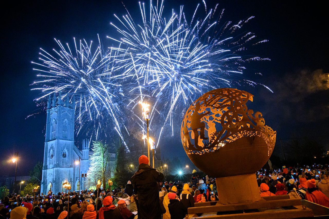 Fireworks in Galway