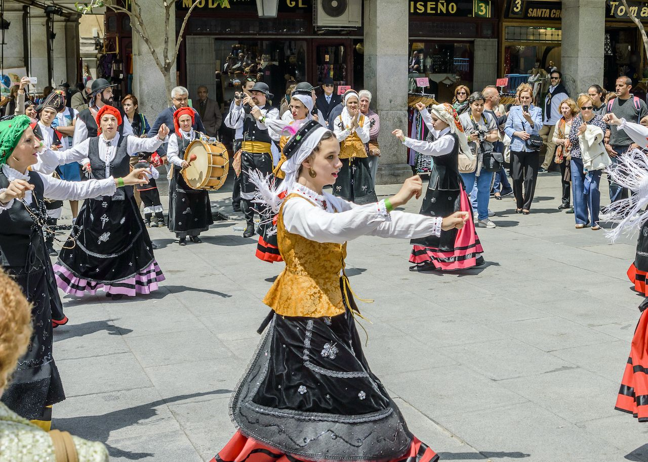 Galicians in madrid