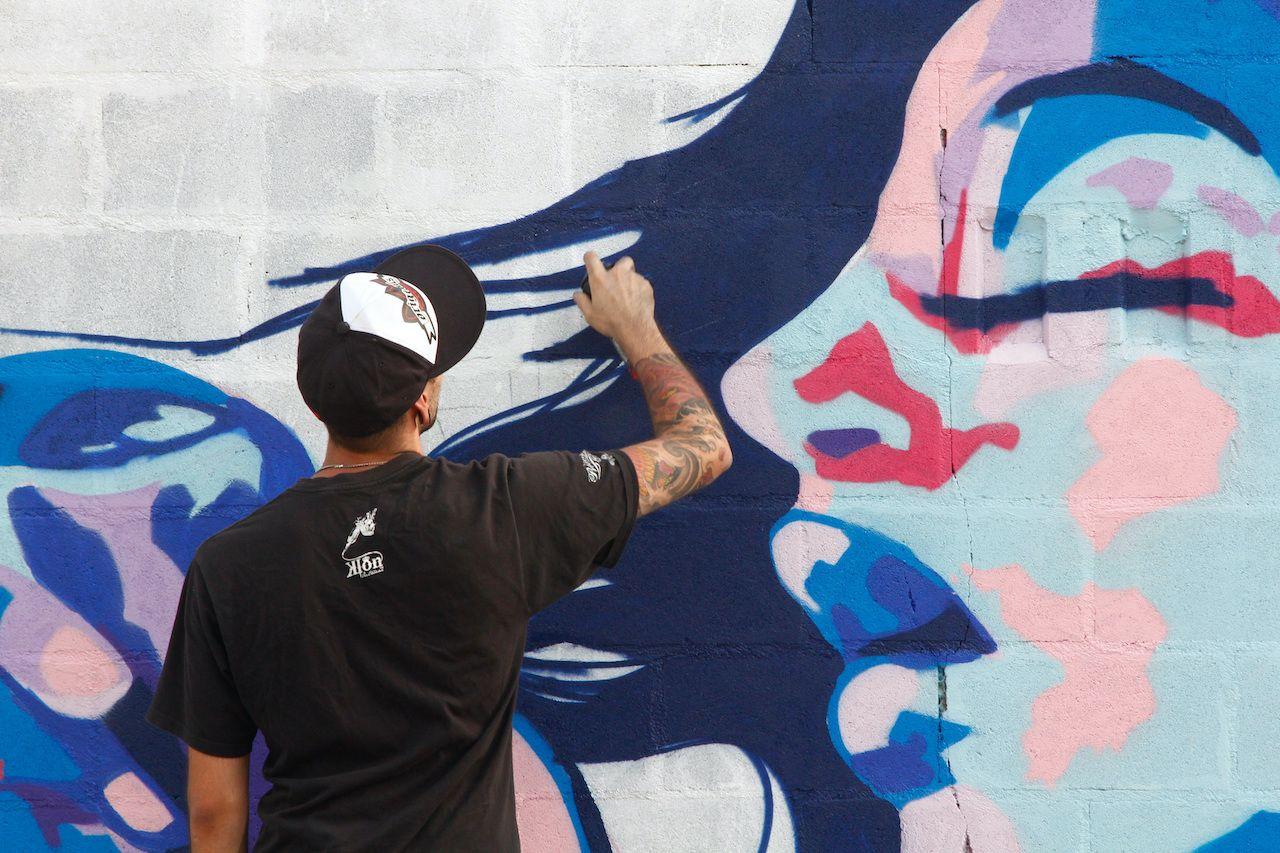 Graffiti and Dance first festival, Aqui huele a pintura, Madrid, Spain