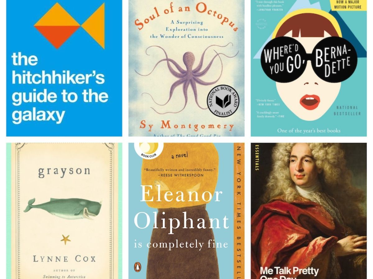 Cheerful books that will bring you joy during this isolating, scary time