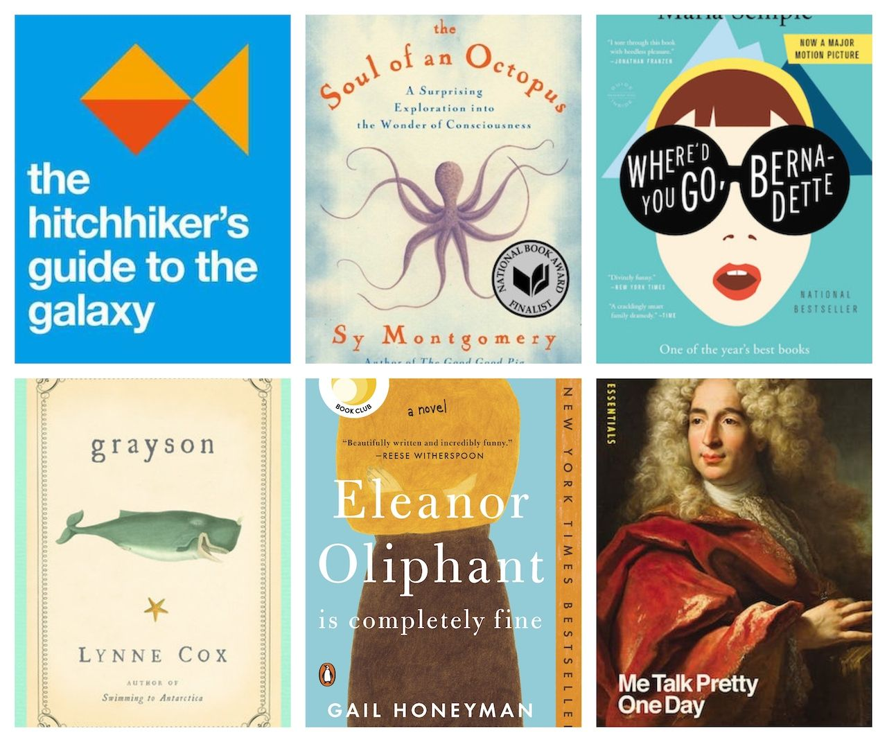 Happy, positive books to read