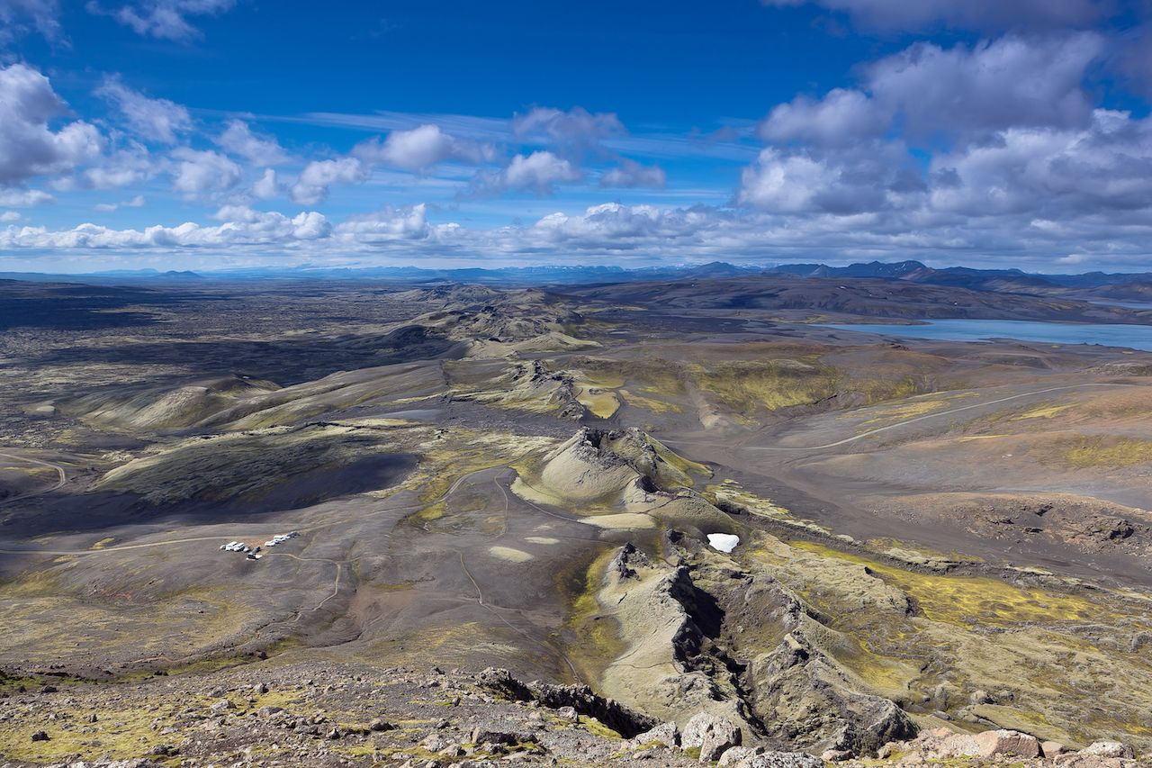 Laki volcanic chain and field